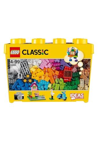 LEGO® Konstruktionsspielsteine »Grosse Steine-Box (10698), LEGO® Classic«, (790 St.), Made in Europe kaufen