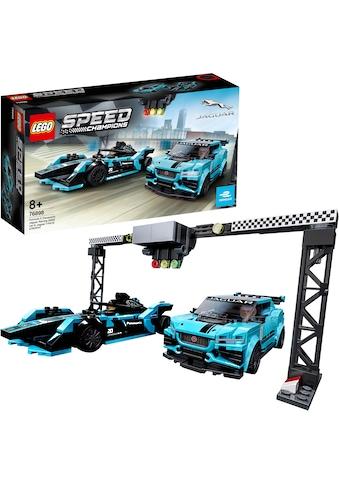 "LEGO® Konstruktionsspielsteine ""Formula E Panasonic Jaguar Racing GEN2 car & Jaguar I - PACE eTROPHY (76898), LEGO® Speed Champions"", (565 - tlg.) kaufen"