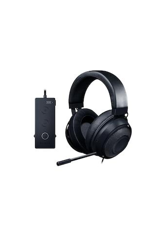 RAZER Gaming-Headset »Kraken Tournament Edition Schwarz«, Noise-Cancelling-Rauschunterdrückung kaufen