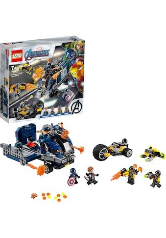 "LEGO® Konstruktionsspielsteine ""Avengers Truck - Festnahme (76143), LEGO® Marvel Super Heroes"", (477 - tlg.) kaufen"