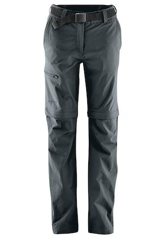 Maier Sports Funktionshose »Nata«, T-Zipp-Off Wanderhose atmungsaktiv und... kaufen
