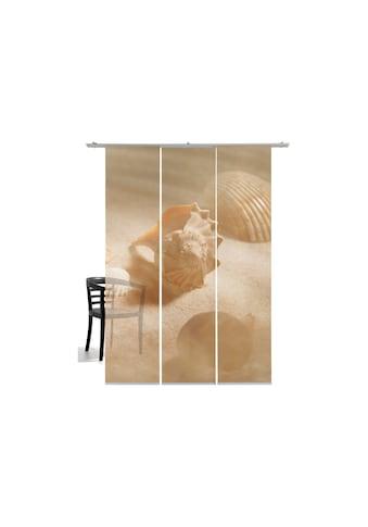 emotion textiles Schiebegardine »Muscheln«, HxB: 260x60, mit Befestigungszubehör kaufen