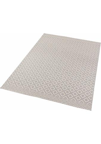 Zala Living Teppich »Avenue«, rechteckig, 4 mm Höhe, Flachgewebe, Hoch-Tief-Struktur, In- und Outdoor geeignet kaufen