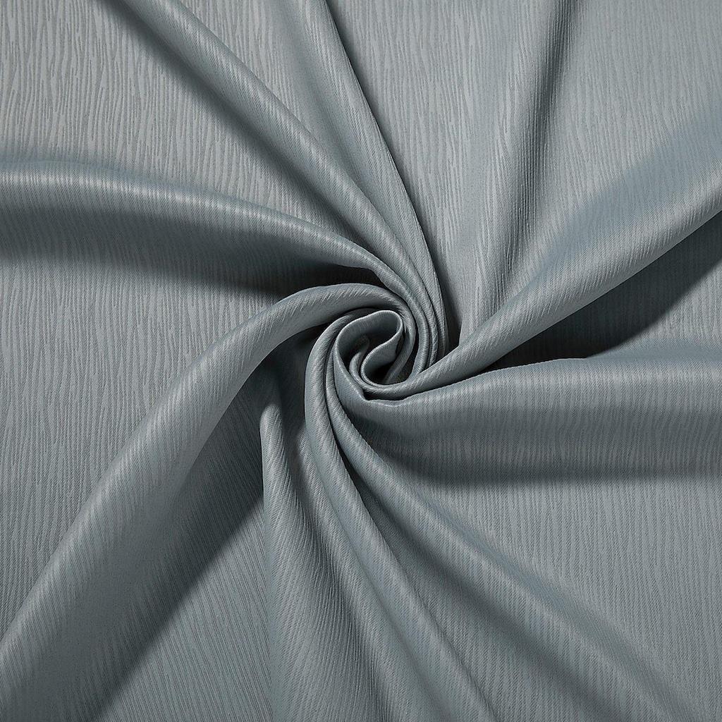Gerster Vorhang »Jakob«, HxB: 235x140, Schlaufenschal mit Uniband, blickdicht