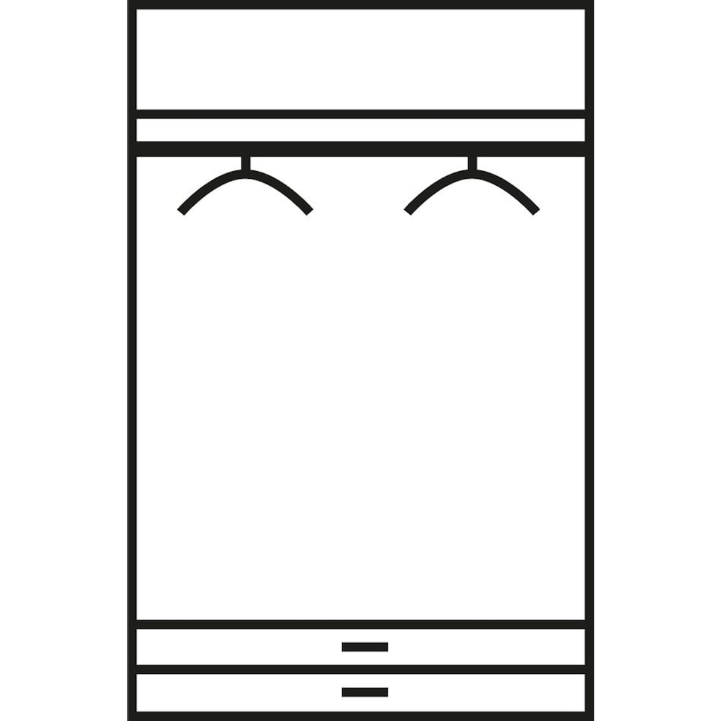 rauch BLUE Kleiderschrank »Noosa«, mit Spiegel und Schubkästen