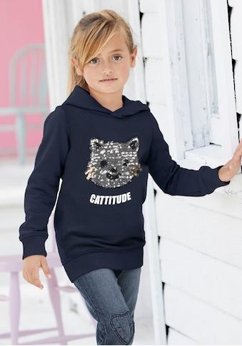 Arizona Langarmshirt, mit schöner Paillettenapplikation kaufen
