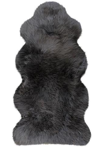 Heitmann Felle Fellteppich »Lammfell KE 152«, fellförmig, 70 mm Höhe, echtes Austral. Lammfell, Wohnzimmer kaufen