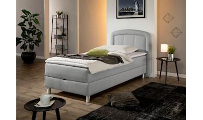Maintal Polsterbett »Lucas«, mit Bettkasten, in 4 Breiten und wahlweise 2... kaufen