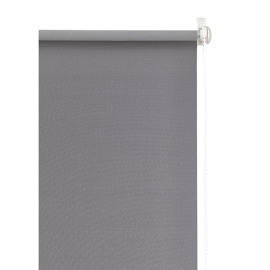my home Seitenzugrollo »THEMSE«, verdunkelnd, energiesparend, ohne Bohren, freihängend, Hitzeschutz
