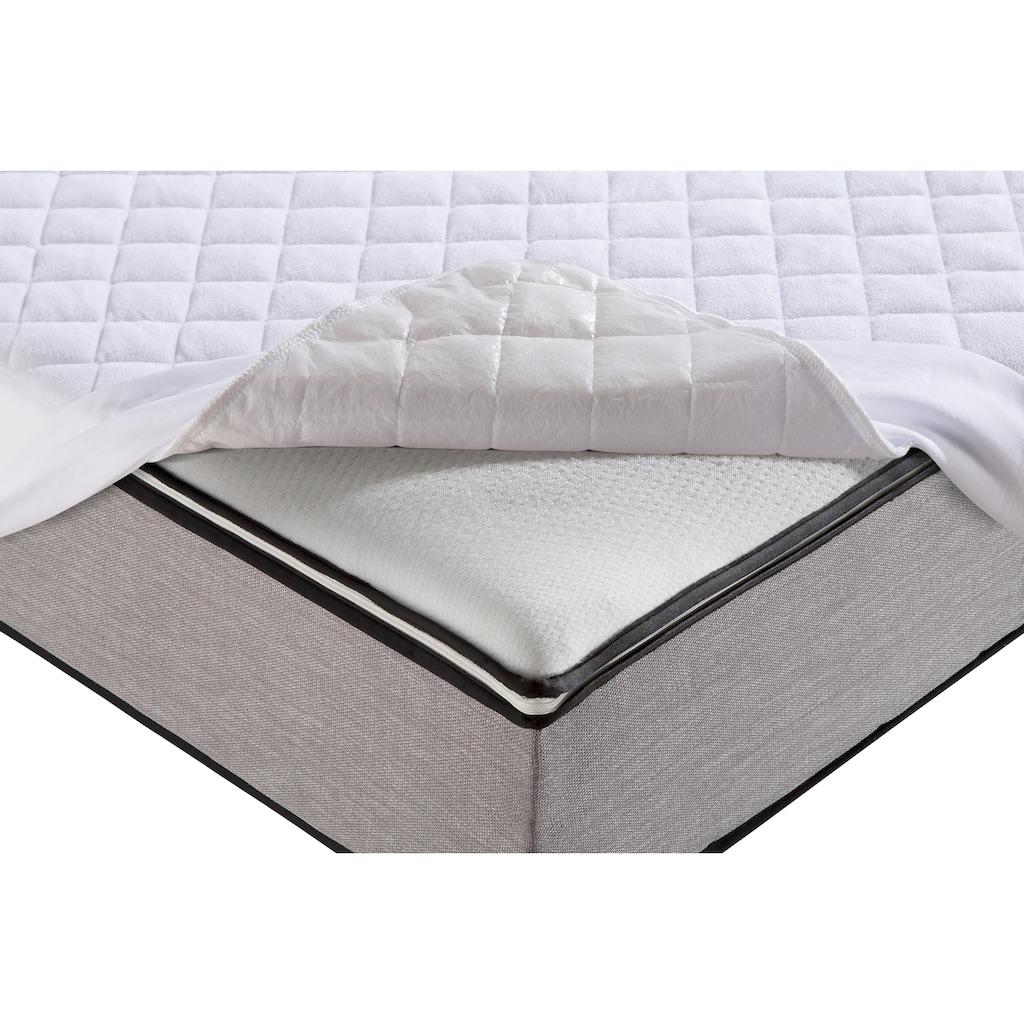 my home Matratzenschutzbezug »Tindy«, wasserdicht mit Spannumrandung für Matratzen bis 25cm Höhe