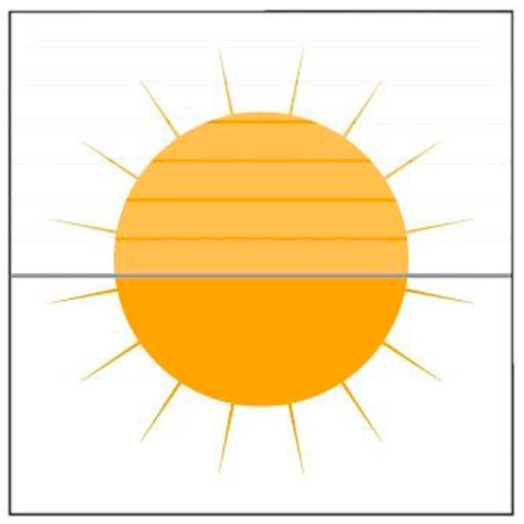 sunlines Seitenzugrollo »One size Style Paint«, Lichtschutz, freihängend, Made in Germany