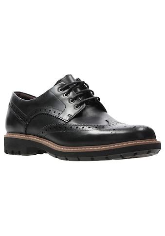 Clarks Schnürschuh »Batcombe« kaufen