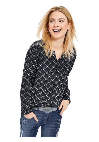 Classic Inspirationen Shirtbluse in aussergewöhnlich schönem Karo - Dessin kaufen