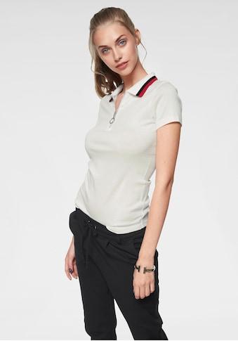 AJC Poloshirt, mit kurzem Reissverschluss kaufen