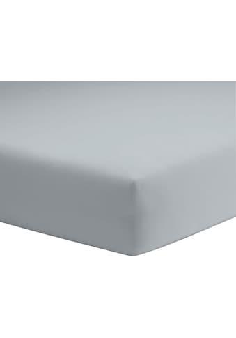 Spannbettlaken »Microfaser - Feininterlock«, Schlafgut acheter