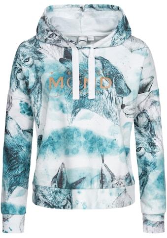 DEPROC Active Kapuzensweatshirt »SWEAT GILFORD AOP WOMEN«, mit Kontrastdetails kaufen