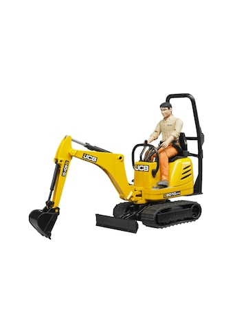Bruder® Spielzeug-Bagger »JCB Mikrobagger 8010 CTS« kaufen