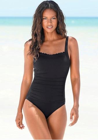 LASCANA Badeanzug »Scallop« kaufen