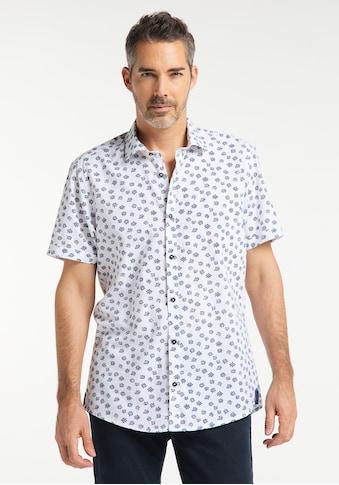 Pioneer Authentic Jeans Herrenhemd Print Übergrösse kaufen