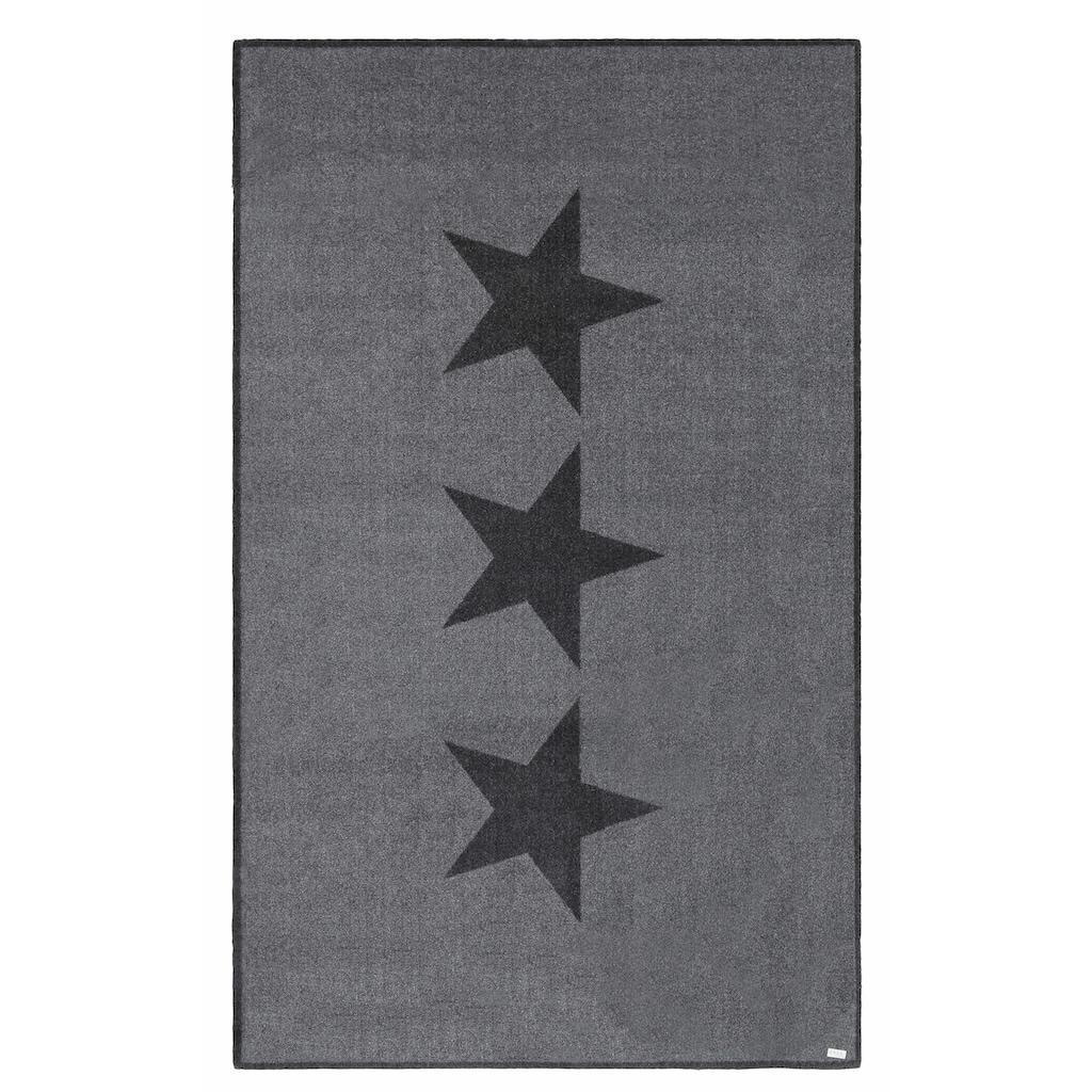 Zala Living Teppich »Sterne«, rechteckig, 7 mm Höhe, Kurzflor, rutschhemmend