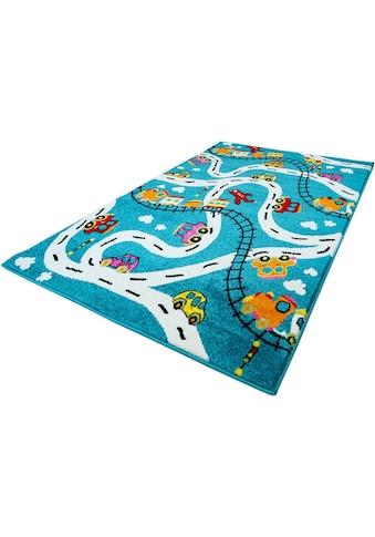 Carpet City Kinderteppich »Moda Kids 1511«, rechteckig, 11 mm Höhe, Kinder... kaufen