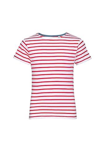 SOLS T - Shirt »Kinder Miles Kurzarm , gestreift« kaufen