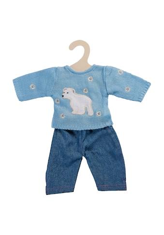 """Heless Puppenkleidung """"Pullover blau mit Jeans"""", (Set, 2 - tlg.) kaufen"""