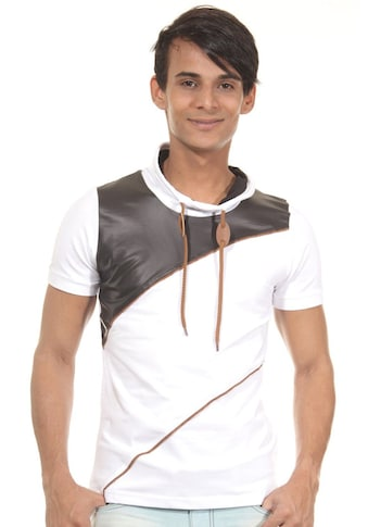 R - NEAL T - Shirt Schalkragen slim fit kaufen