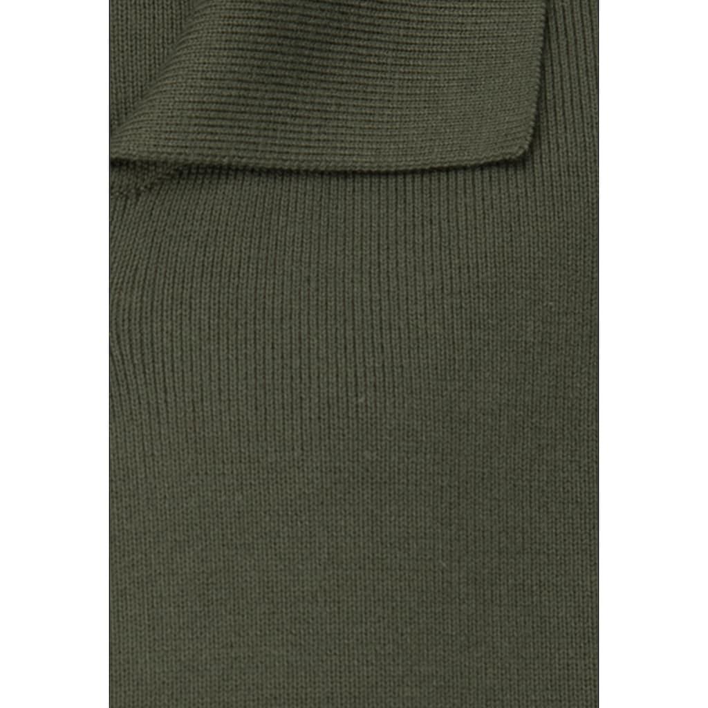 seidensticker Strickjacke »Schwarze Rose«, Cardigan Uni