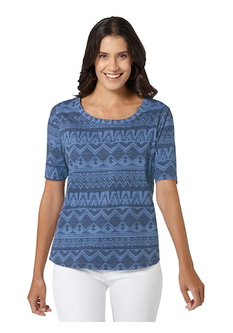 Ambria Shirt mit grafischem Druck rundum kaufen