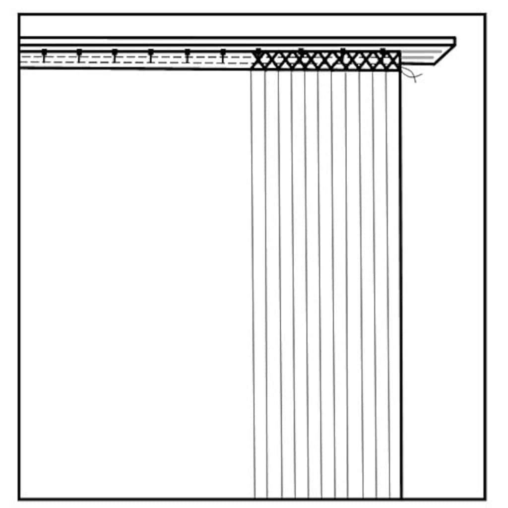 HOME WOHNIDEEN Vorhang »ZULA«, HxB: 245x140