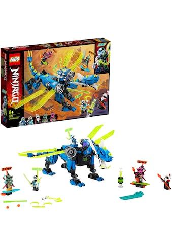 "LEGO® Konstruktionsspielsteine ""Jays Cyber - Drache (71711), LEGO® NINJAGO®"", (518 - tlg.) kaufen"