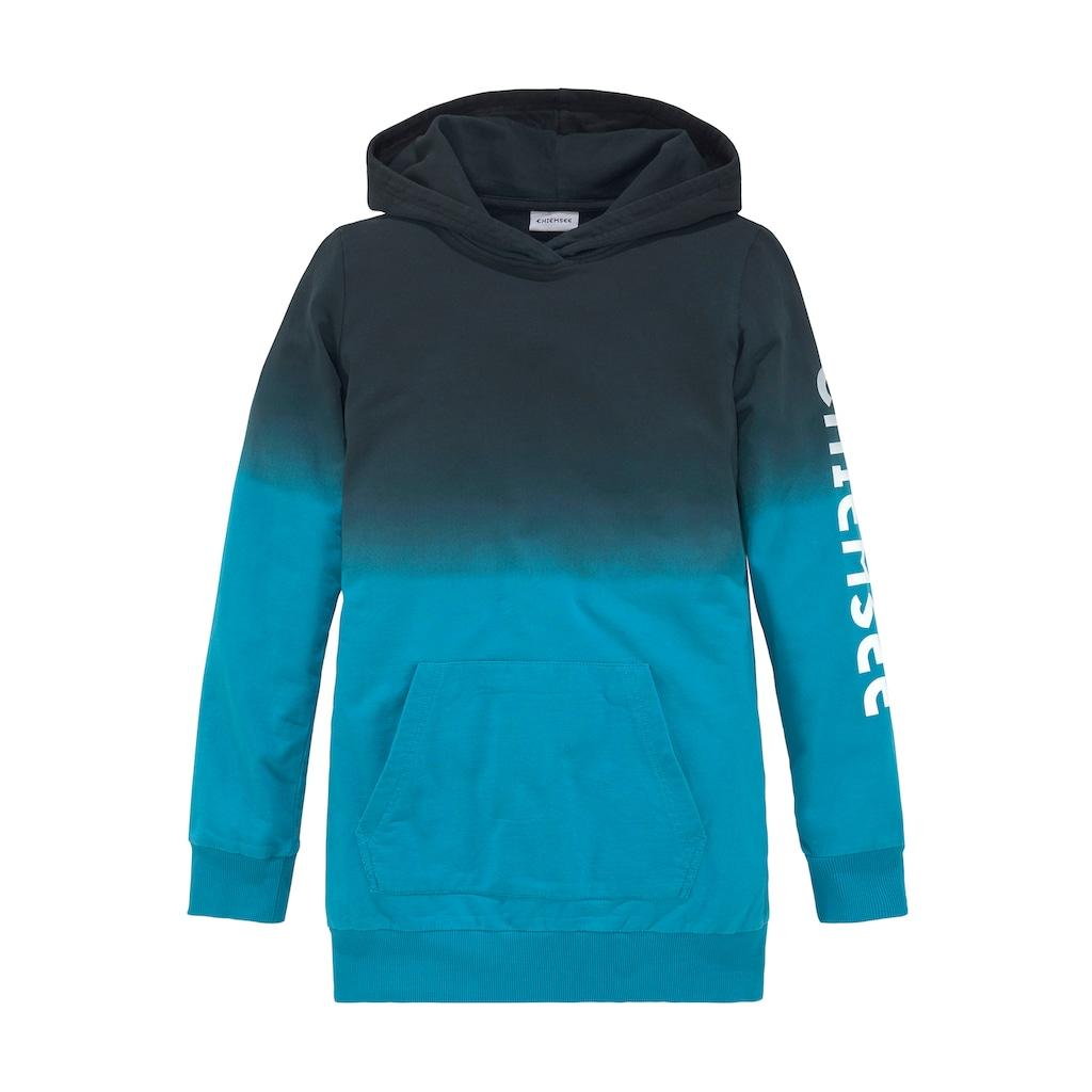 Chiemsee Kapuzensweatshirt, mit schönem Farbverlauf