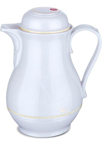 ROTPUNKT Isolierkanne »Shiny White«, 0,5 l, mit goldfarbiger Umrandung kaufen