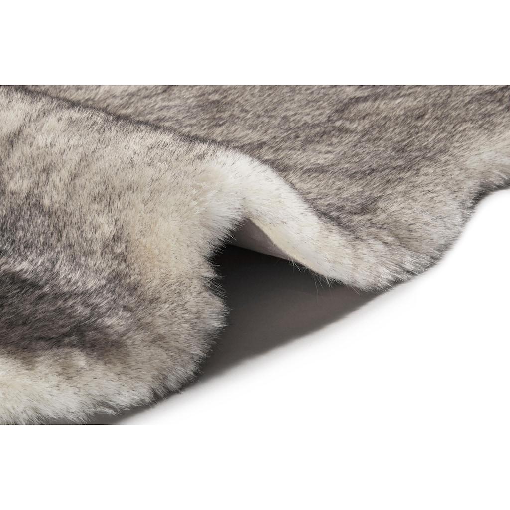 MINT RUGS Fellteppich »Superior«, fellförmig, 45 mm Höhe, Kunstfell, Wohnzimmer