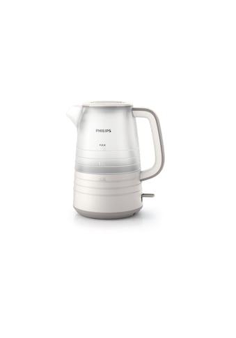 Philips Wasserkocher »HD9334/07 1.5 l, Weiss«, 1,5 l, 2200 W kaufen