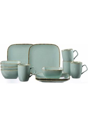 Ritzenhoff & Breker Frühstücks-Set »CASA«, (Set, 12 tlg.), Vintage/Used-Look kaufen