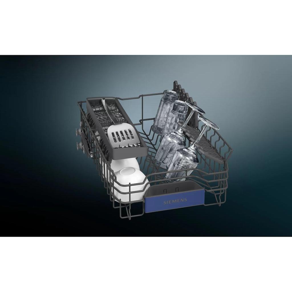 SIEMENS vollintegrierbarer Geschirrspüler »iQ300 SR63EX20KE«, SR63EX20KE