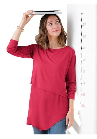 Alessa W. Blusenshirt mit mehreren asymmetrischen Lagen übereinander kaufen