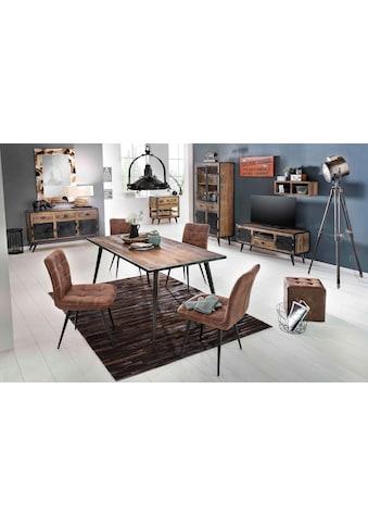 SIT Esstisch »Iron«, aus Mangoholz und Schmiedeeisen,140/70 cm kaufen