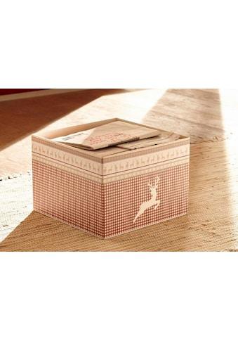 Home affaire Aufbewahrungsbox »Arosa«, auch im 2er-Set kaufen