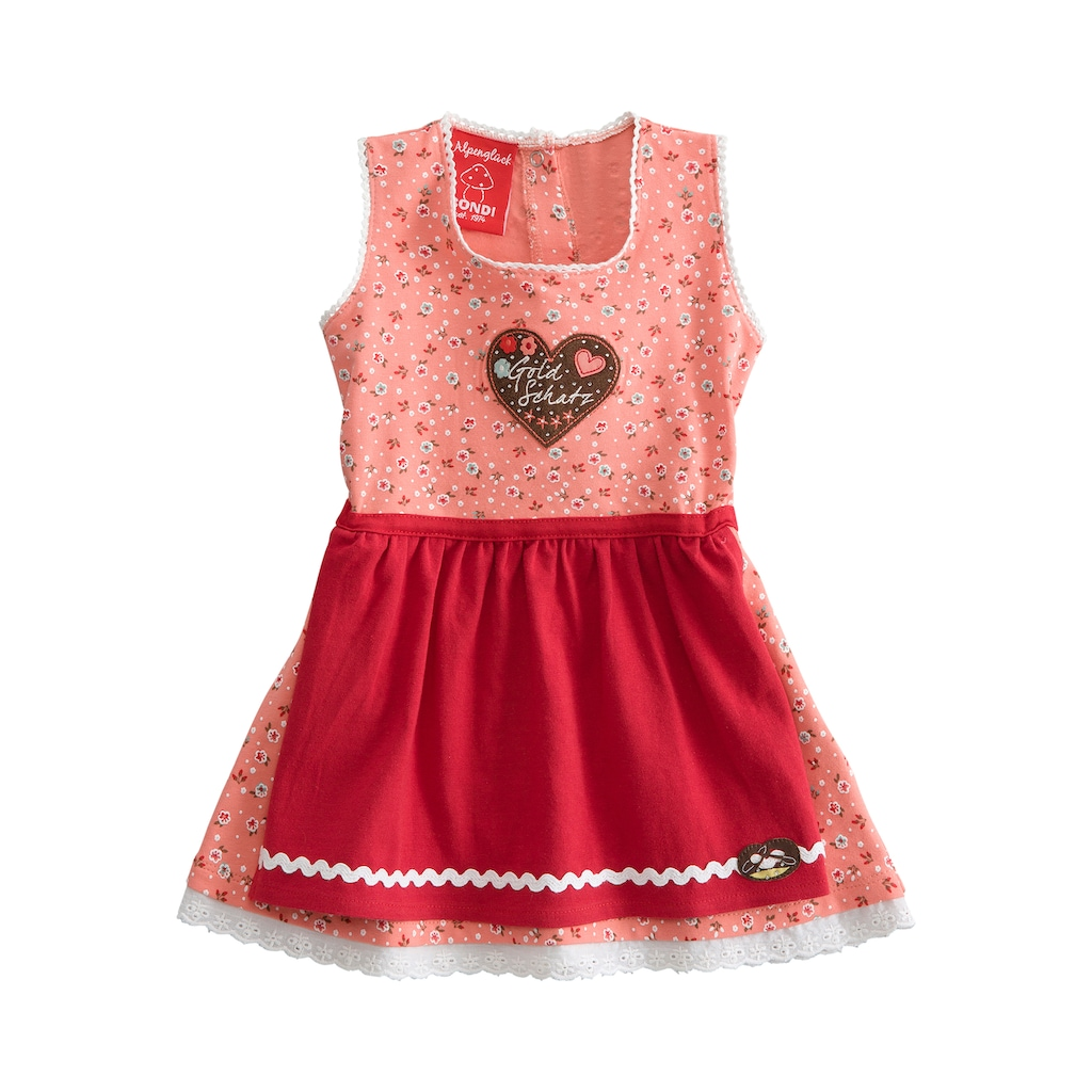 BONDI Trachenkleid Kinder mit Blumenprint all-over