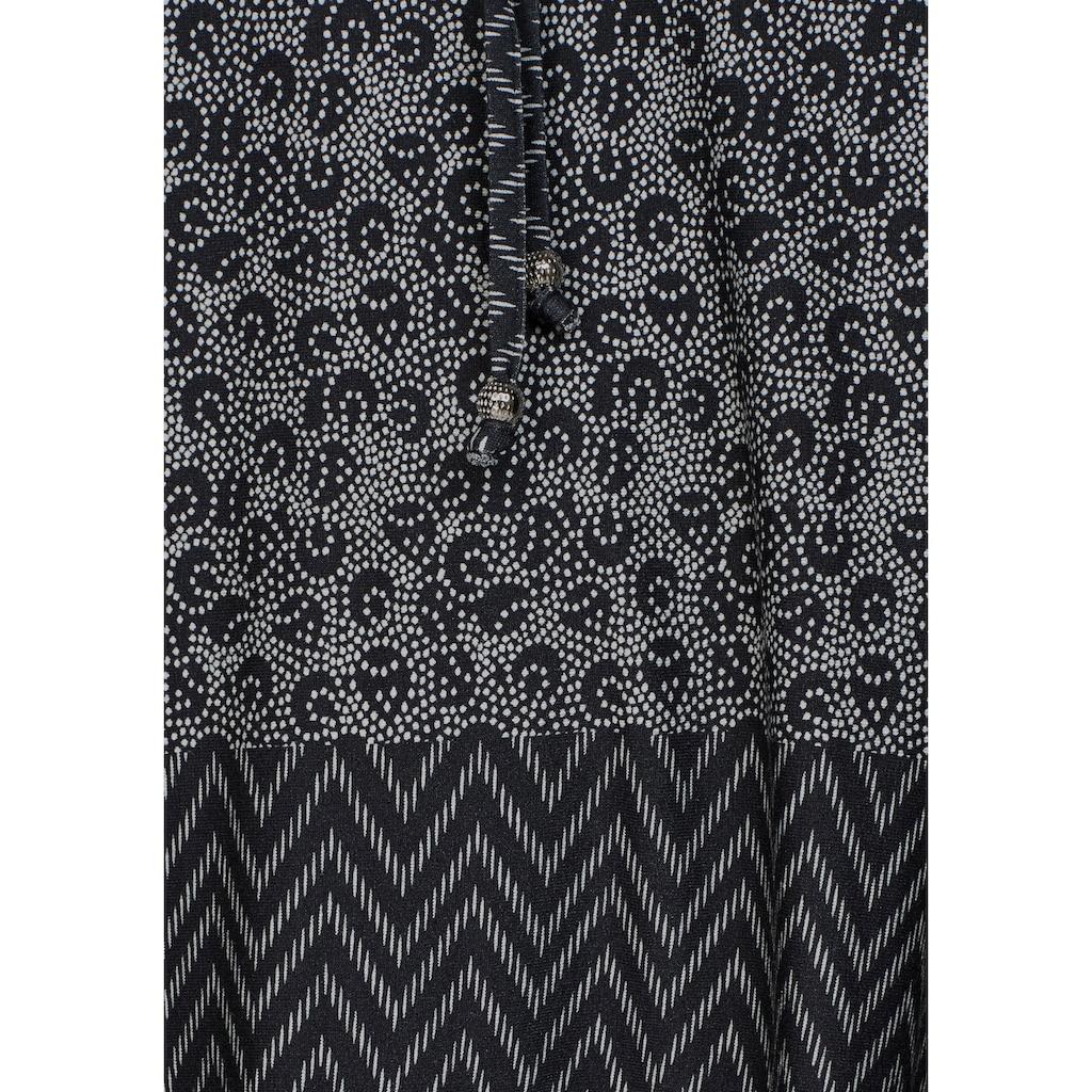 Boysen's Longshirt, mit Schnürung am V-Ausschnitt