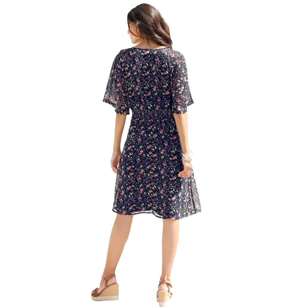 Inspirationen Chiffonkleid »Kleid«