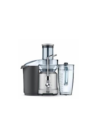 Entsafter, Sage, »Nutri Juice - Cold Silberfarben;Schwarz« kaufen