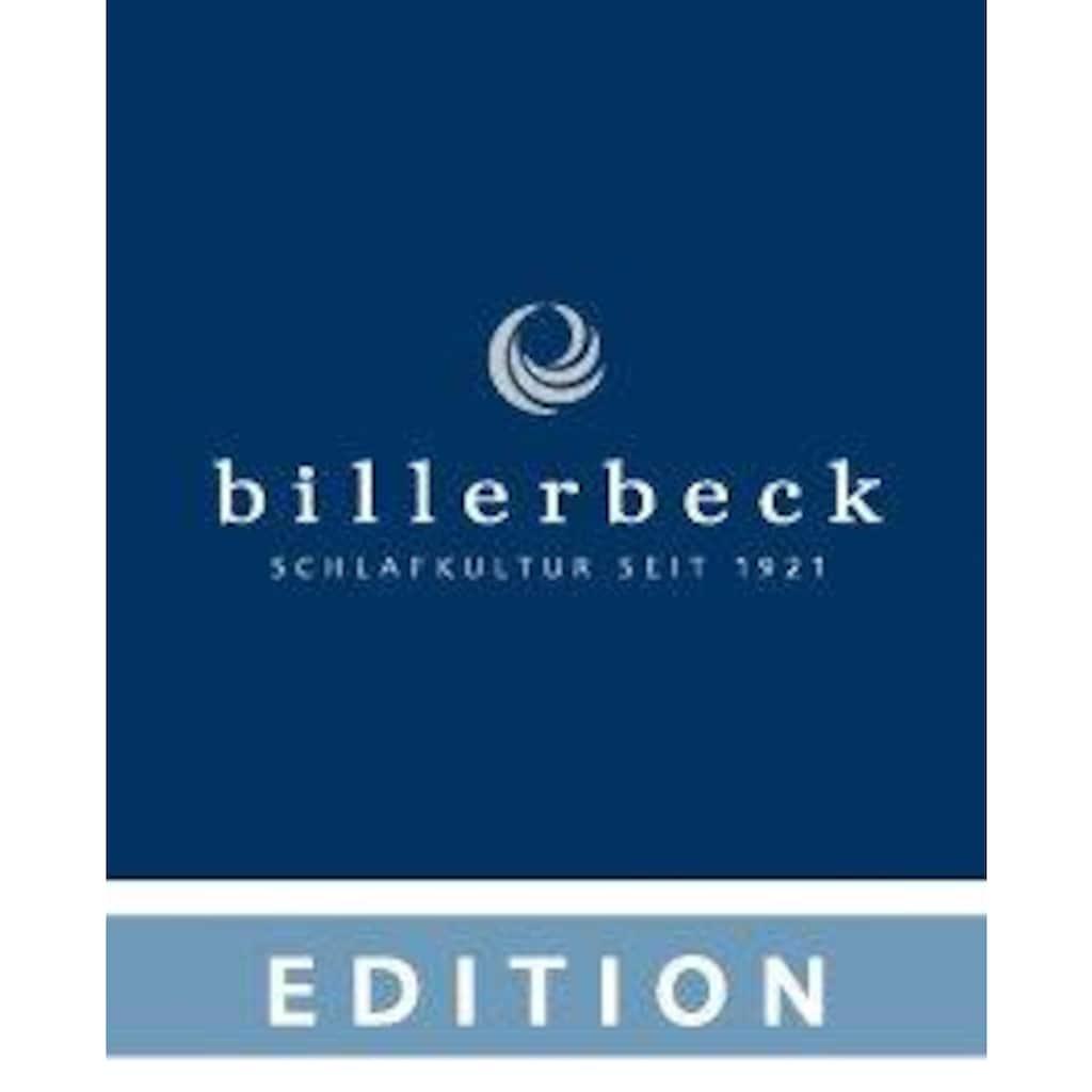 billerbeck Nackenstützkissen »Nackenstützkissen, Billerbeck, »Vita Bamboo««, Füllung: 100% Polyurethan (PU), Visko-Schaumkern, Bezug: Doppelgewirke mit Bambusanteil, 60% Polyester, 40% Viskose (Bambus), (1 St.)