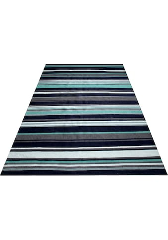 GOODproduct Teppich »Eggert«, rechteckig, 5 mm Höhe, aus 100% recyceltem Garn, Wohnzimmer kaufen