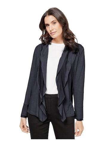 Lady Shirtjacke mit gewelltem Schalkragen kaufen