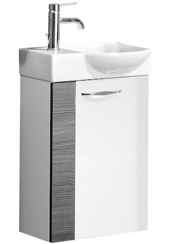 FACKELMANN Mini - Gäste - WC - Lösung »A - VERO«, Breite 45 cm, Tiefe 32 cm, (2 - tlg.) kaufen