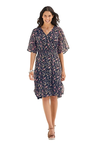 Classic Inspirationen Kleid mit süssem Millefleurs - Print kaufen